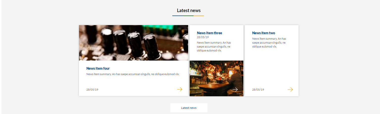 Image of latest news 3 panel option - grey